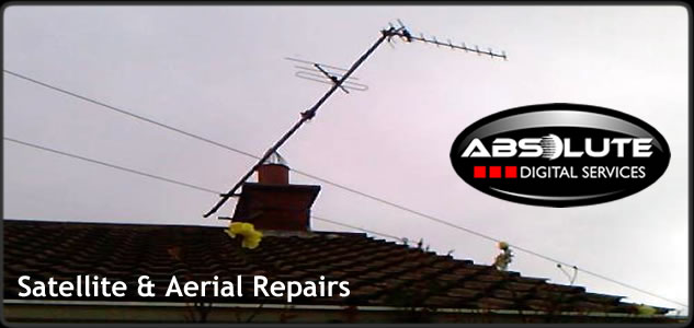 aerial repairs sky satellite tv dish repairs